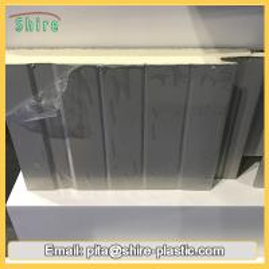Aluminum Insulated Panel Clear Plastic Sticky Film , Protective Auto Film Multi Purpose Manufactures