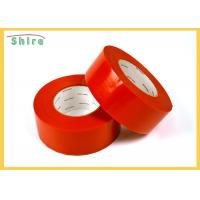 30 Day Red Stucco Making Tape Natural Rubber Adhesive Stucco Tape Manufactures