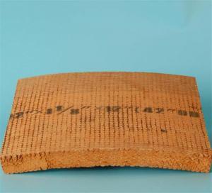 Good Flexibility Brake Block Material , Woven Friction Material Non Asbestos Manufactures
