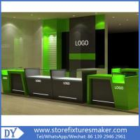 Mobile Phone Shop Interior Design With Customized Logo Color Size Manufactures