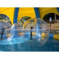2m TPU Inflatable Roller Ball , Inflatable Water Rolling Ball For Pool Game Manufactures