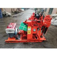 China 200m Depth Hydraulic Borehole Drilling Machine For Geothermal Drilling on sale
