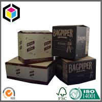 Double Wall Corrugated Cardboard Shipping Boxes; RSC Style Shipping Box Manufactures