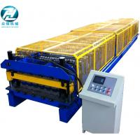 Quality Colored Steel IBR Roofing Sheet Roll Forming Machine With Delta PLC Control 30m/min for sale