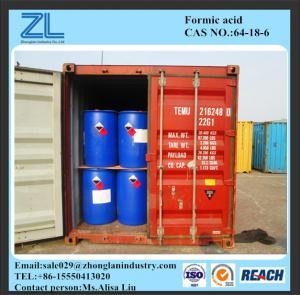 85%min Industrial GradeFormicAcidCas No. 64-18-6 Manufactures
