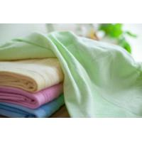 Fashionable Organic Cotton Towels Solid Colors Unique Microfiber Bamboo Cotton Towels Manufactures