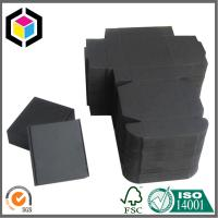 Black Kraft Paper Shipping Box; Single Wall Handmade Corrugated Mailing Box Manufactures