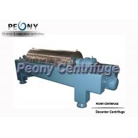 Buy cheap Spiral Discharge Horizontal Decanter Centrifuge Industry Sludge Sewage Decanter from wholesalers