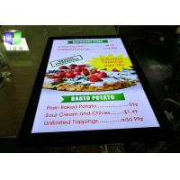 High Brightness Poster Frame Light Box 24 X 36 Picture Panels For Menu Board Manufactures