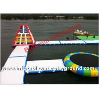 Large Floating Water Park Inflatable Amusement Park Used In Lake Or Ocean