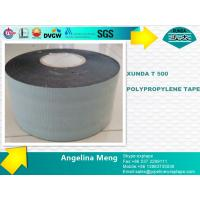 Woven Polypropylene Fiber Woven Tape With Butyl Rubber Bitumen Adhesive Layer Manufactures