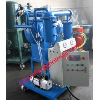 China Insulation Oil Purification Plant ,Oil Filter Machine for small transformers, remove water on sale