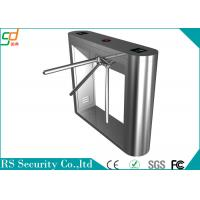 Stainless Steel Waist Height Turnstiles Security Gate Tripod Turnstiles Manufactures