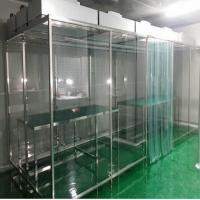 Quality Portable Softwall Modular Clean Room / Class 100 Clean Booth Class 1000 Purification for sale