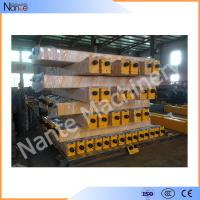 HRC45-48 Steel Gantry Crane / Bridge Crane End Trucks 1 ton - 100 ton Manufactures