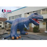 6M Party Decoration Inflatable Cartoon Characters Dinosaur Costume For Advertising Manufactures