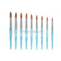 3D Effect Painting Acrylic Nail Art Brush Kit With Finest Pure Kolinsky Hair Manufactures