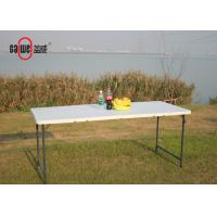 Events Camping Light Folding Table , Rectangular Folding Table For Leisure Time Manufactures