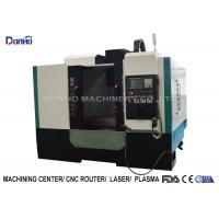 ISO Small Cnc Milling Machine For Machining Metal Castings Plumbing Fittings Products Manufactures