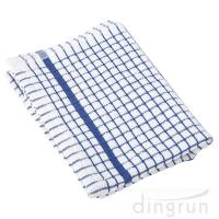 100% Cotton Kitchen Tea Towels , Azo Free Housework Kitchen Cleaning Cloth 50*70cm Manufactures