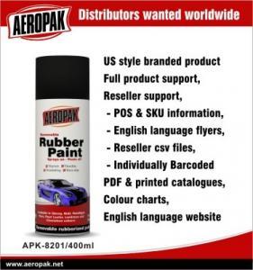 Non Toxic Aerosol Metallic Red Spray Paint For Car , Plasti Dip Rubber Paint Manufactures