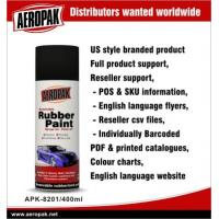 Portable Red Car Aerosol Spray Paints , Abrasion Resistant And Flexible Manufactures