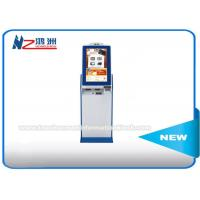 Floor Standing Digital Signage Lobby Kiosk LED / LCD Panel Touch Screen Manufactures