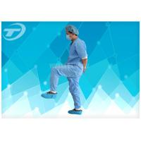 Disposable Non - Woven Fabric Hospital Patient Gown With CE Certified Manufactures