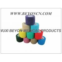 Latex - free Cohesive Hand Elastic Bandage , Self - adhesive Breathable Bandages Manufactures
