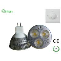 With CE and RoHS 3W Cool White 300LM 30 / 60 degree dimmable LED Spotlight QH-MR16DS-1W3 Manufactures