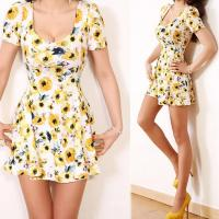 Garment factory wholesale supplier Women casual wear sexy dress apparel ladies fashion Manufactures