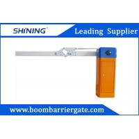Torque Motor Parking Folding Car Park Boom Gate With Auto Close Function Manufactures