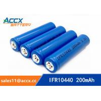 IFR10440 3.2V AAA size lifepo lithium rechargeable battery Manufactures