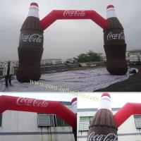 Inflatable Arch Door For Cocacola Opening Celebration Manufactures