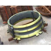 High Manganese Steel Cone Crusher Wear Parts Sand Casting Process For Mining Industrial Manufactures
