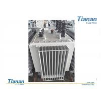 Oil Type Three Phase Power Transformers Full Sealed With Low Temperature Noise Manufactures