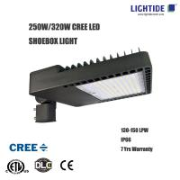 DLC CREE LED Shoebox Area Lights, 250W, CE/ROHS, 7 Years Warranty Manufactures