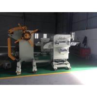 Uncoiler Precision Leveling Equipment , Hydraulic Expansion Metal Fabrication Equipment Manufactures