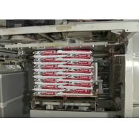 Intelligent Automatic Palletizer Machine / High Level Palletizer For Cartons Stacking Manufactures