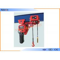 Light And Durable Harrington Chain Hoist 3m To 130m Length Water Proof Push Button Manufactures