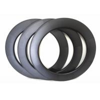 88 U Shape Carbon Road Bike Rims 700C 25MM Width With 3K And UD Weave Manufactures