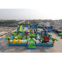 Fantastic Inflatable Obstacle Course Equipment With 0.55mm Pvc Tarpaulin Manufactures