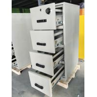 Safety Fire Rated File Cabinets With Separately Mechanical Lock For Laboratory Manufactures
