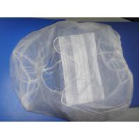 Soft Medical Disposable Hair Caps Hood Astronaut Caps PP Non Woven Material Manufactures