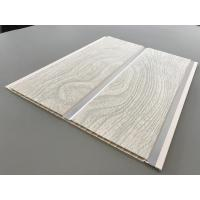 Buy cheap PVC Wood Panels Peanut Pattern Groove Shape Size 250 × 7mm With High Strength from wholesalers