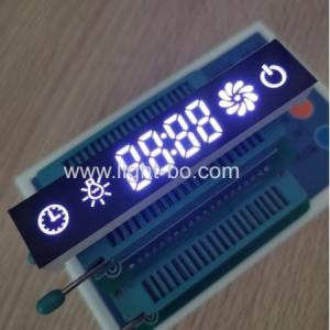 Customized Blue/Green/Red 7 Segment LED Display Module For Kitchen Hoods Control Switch Manufactures