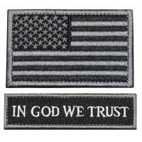 Military Embroidered Custom Made Morale Patches Badges Tactical For Cap Bag Manufactures
