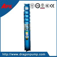 China High pressure centrifugal pump, cast iron 297m submersible deep well pump on sale