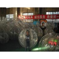 Inflatable Human Balloon / Inflatable Water Toys Human Inflatable Bumper Bubble Ball Manufactures