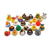 Quality Baby Bath Time Penguin Rubber Duck Toy 5cm Length For Collection Duck Lover for sale